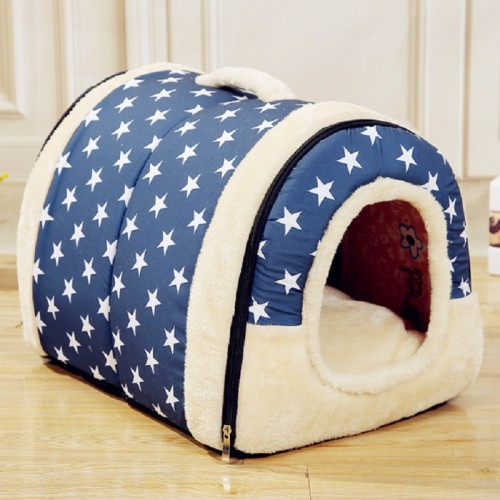 Multifuctional Dog House Nest With Mat Foldable Pet Dog Bed Bed House For Small Medium