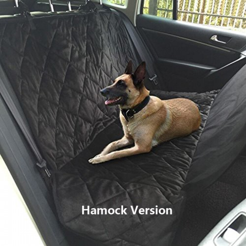 Pet Dog Car Rear Bench Back Seat Cover Mat waterproof Hammock style and Back Cover