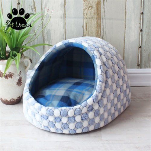 Pet Dog House Bed Puppy Bed Blanket House Dog Bed Mat Kennel Nest