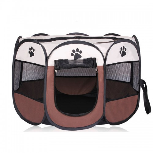 Portable Folding Pet tent Dog House Cage Dog Tent Playpen Puppy Kennel Easy Operation
