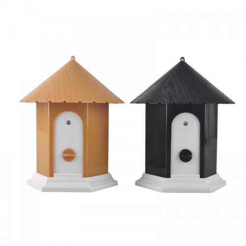 Home Outdoor Ultrasonic Dog Bark Control Stop Repeller Controller Birdhouse Sonic
