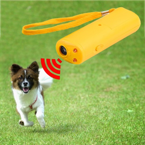 LED Ultrasonic Anti Bark Barking Dog Training Repeller Control Trainer device 3 in 1 Anti Barking