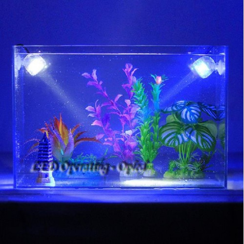 Outdoor Indoor Underwater led lamp Waterproof led aquarium light for coral reef fish tank Submersible Aquarium