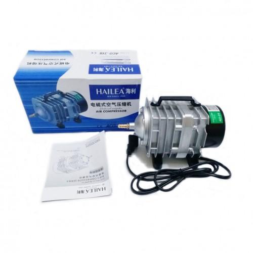Hailea Electromagnetic Air Compressor aquarium air pump Fish Tank Oxygen