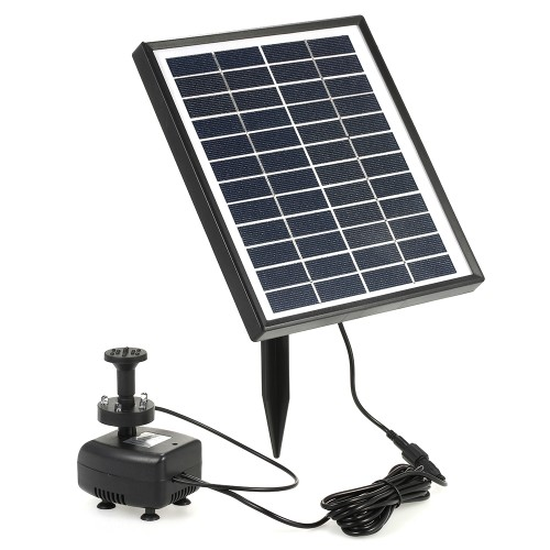 Solar Power Solar Water Pump Built in Storage Battery Remote Control Submersible LED Pump