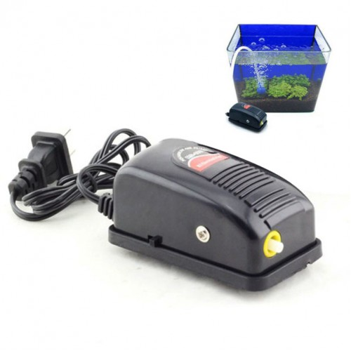 Top Grand Super Silent Adjustable Aquarium Air Pump Fish Tank Oxygen Air Pump