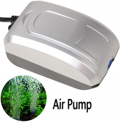 Ultra Silent Aquarium Fish Tank Oxygen Bubble Air Pump Water Pump