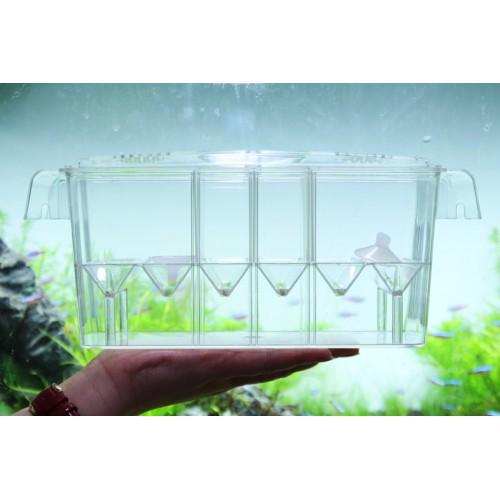 room hatch box suspend aquarium arcylic guppy baby small fish separation breeding box auto float