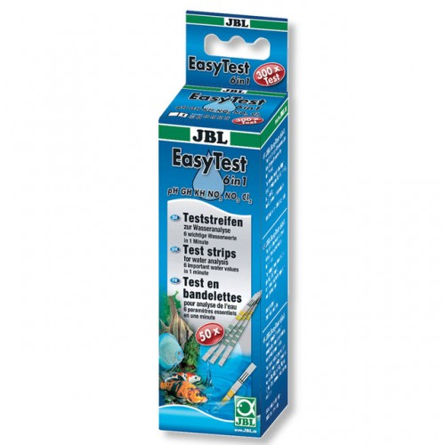 Easy Test Strips chlorine aquarium fish tank water