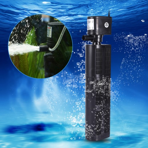 Multi function Fish Tank Filter Aquarium Filter Submersible Oxygen Pump Purifier Tank Tool