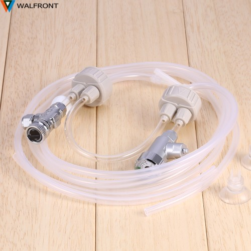 Aquarium Co2 Generator Kit With Pressure Air Flow Adjustment Water Plant Difusor High