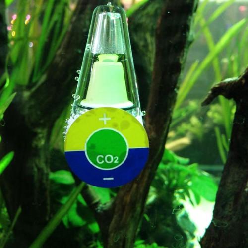 Aquarium Portable CO2 Indicator Solution Diffuser For Fish Tank Aquarium Accessories Measure Meter Tester Durable