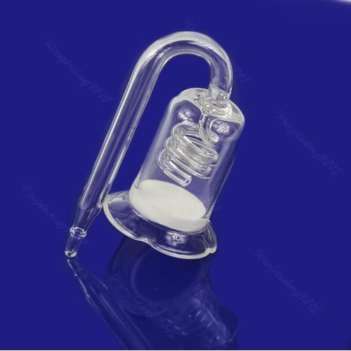 Ceramic Spiro Aquarium Glass CO2 Diffuser For Plant Skimmer Moss Tank
