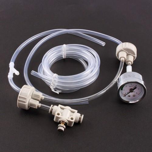 Fish Tank Aquarium CO2 Generator System Kit with Pressure Air Flow Adjustment Water