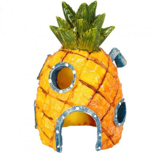 Cute Spongebob Squarepants Pineapple House Fish Tank Aquarium Ornament Home
