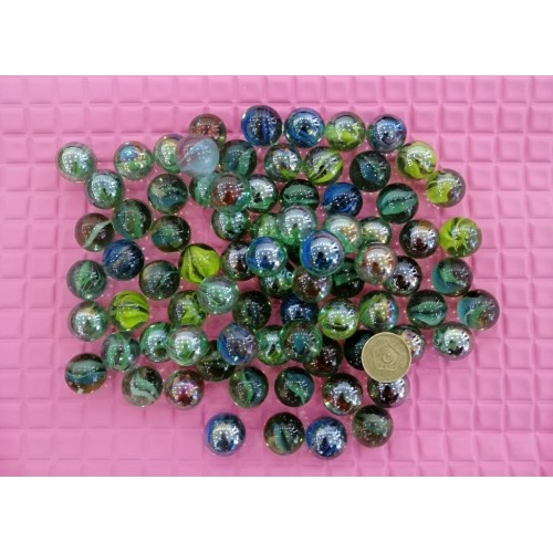 40 Pieces Gravel Pebbles For Aquarium Ornaments Fish Tank & Pots Decore