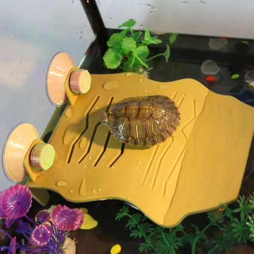 Turtle Aquarium Float Decoration Bask Platform Crawler Sun Roof Terrace Floating Island Climb Brazilian Tortoise Kingpet