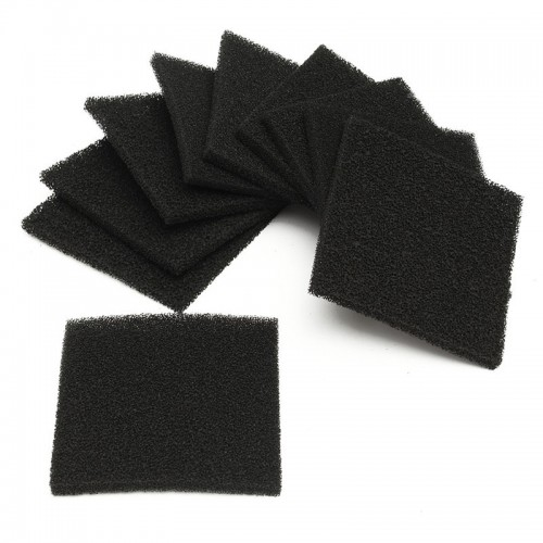 Activated Carbon Filter Sponge For  Solder Smoke Absorber Fume Extractor