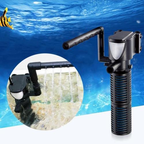 Aquarium Filter Multi function Aquarium Fish Tank Internal Purifier Submersible Pump