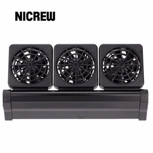 Nicrew Aquarium Accessories aquarium tank cooling fans fish tank fans for aquarium coral reef Adjustable 2