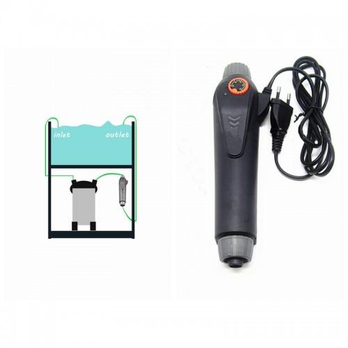 aquarium accessories external heater 18 34 centigrade 220 240v 100 200 300w fish tank adjustable temperature