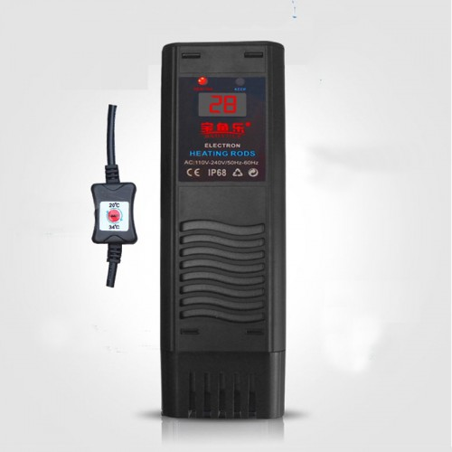 aquarium high power heater 500w 1000w electronic PTC heating rod auto switch off without water or