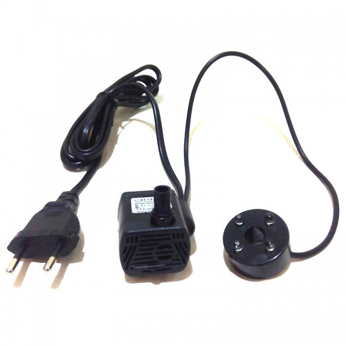 Mini Water Pump for Rockery Fountain for Fish Tank LED Lights