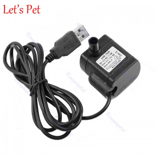 USB Submersible Water Pump Aquarium Fish Tank Fountain Pond Pump mini