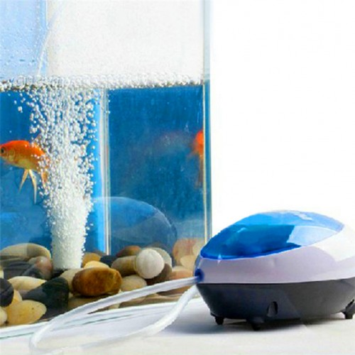 Zero Ultra Silent High Energy Efficient Aquarium Fish Tank Oxygen Air Pump