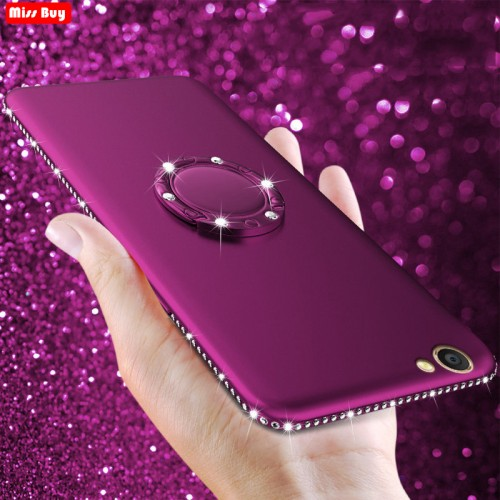 Bling Diamond Silicon Soft Cover For OPPO