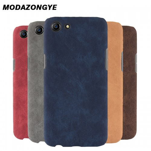 Hard PU Leather Phone Case For OPPO