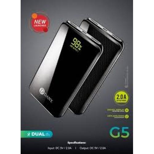 Dany Galaxy G-5 Power Bank Dual Port Ultra Slim Design