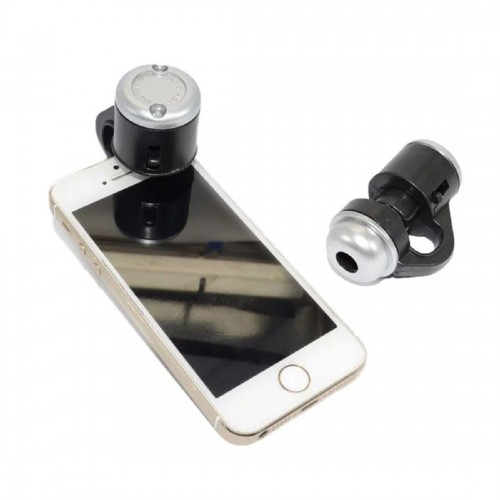 Etmakit Universal 30X Optical Zoom Mobile Phone Microscope Clip Micro Lens Telescope Camera Lens For iPhone