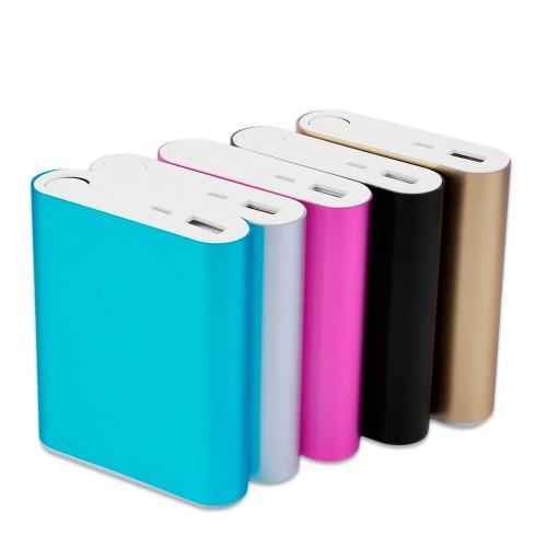 10400mAh DIY Power Bank 4 18650 Battery Box Case Kit Universal USB External Backup Battery Charger