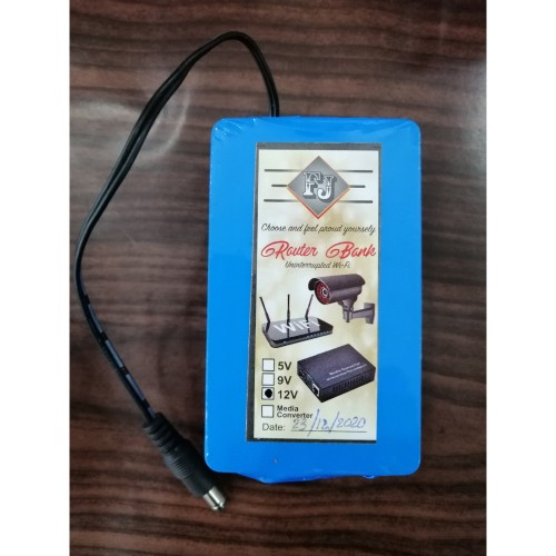 12V Router Backup UPS Power bank For WIFI Router Device