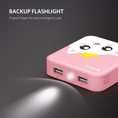 Yoobao Cute PowerBank 10000mAh For Xiaomi Redmi Mi Power Bank Portable Charger 10000 mAh PoverBank