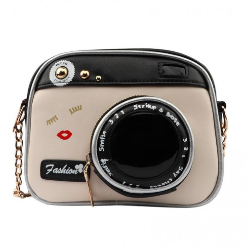 Bags For Women Lady Camera Bag Women Handbag Chain Messenger Female Crossbody Zipper Creative Jewelry