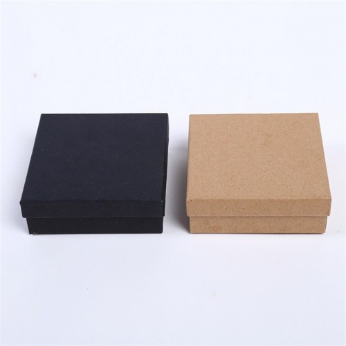 DoreenBeads Jewelry Boxes Paper Box Vintage Brown Black Ring Box Necklace Box 9 9 3cm.jfif