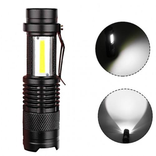 Waterproof Pocket Flashlights Folding Flashlight Portable  Outdoor Maintenance