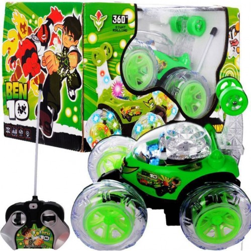 Ben 10 360 Movable Super Stunt Car Rechargeable Remote Controller