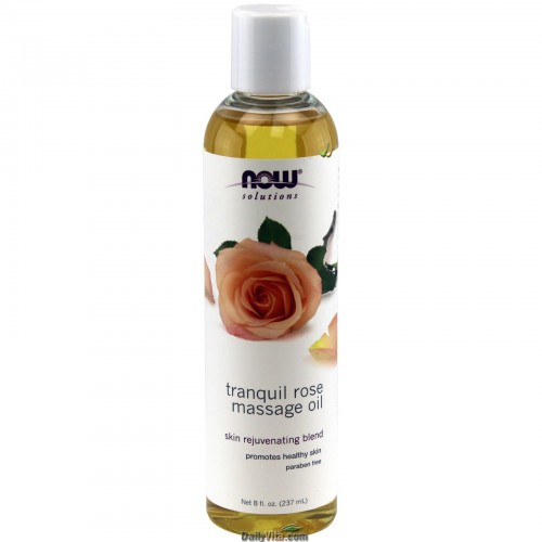 Now Solutions Tranquil Rose Massage Oil 237ml