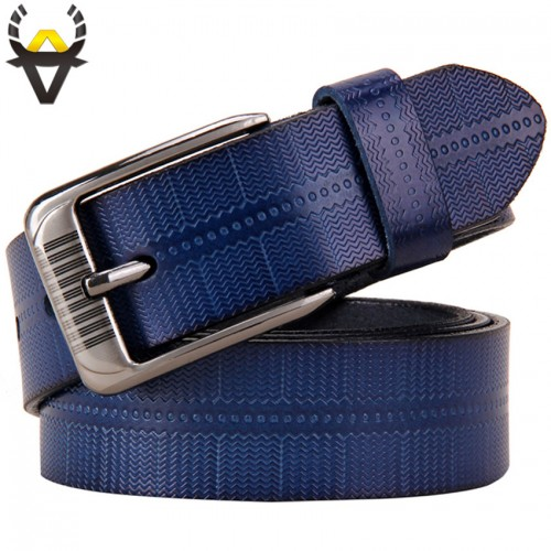 New belts for women Second Layer Cow genuine leather Fashion pin buckle high quality woman belt