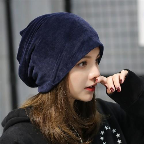 newest fashion winter hats women casual Skullies cap female rochet unisex cotton warm elasticity hats