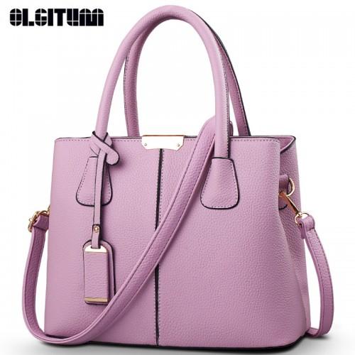 OLGITUM Hot Fashion Big Bag Women Shoulder Messenger Bag Ladies Handbag