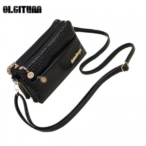 OLGITUM New Small Shoulder Bag Crocodile Pattern Bag Women Messenger Bags for Women