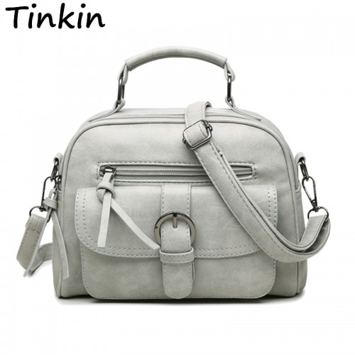 Tinkin New Arrival Women Bag Fashion Shoulder Bag Casual Simple Totes Fresh Cherry Bag
