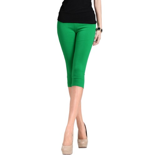 plus size 6XLCropped Cotton Leggings 3 4 pants knee length legging thermal breeches womens trousers casual