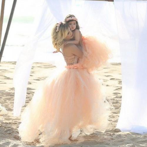 Floor Length Wedding Skirt Tulle Overskirt Pleated Fashion Handmade Woman Tutu Female Long Skirt Lolita