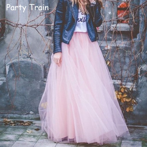 Spring Fashion Womens Lace Princess Fairy Style layers Voile Tulle Skirt Bouffant Puffy Fashion