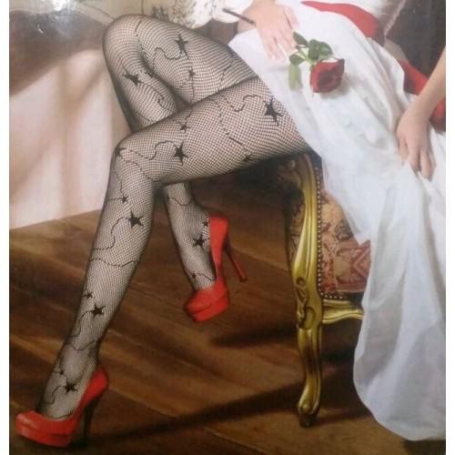 Womens Net Star Fishnet Pantyhose Tights Stockings